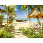 Морской пляж #1